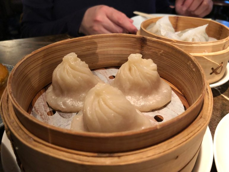 Duck and Rice Xiao long bao