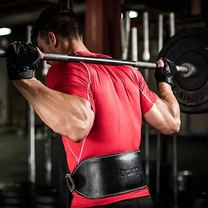 Harbinger Padded Weight Lifting Belt Rear