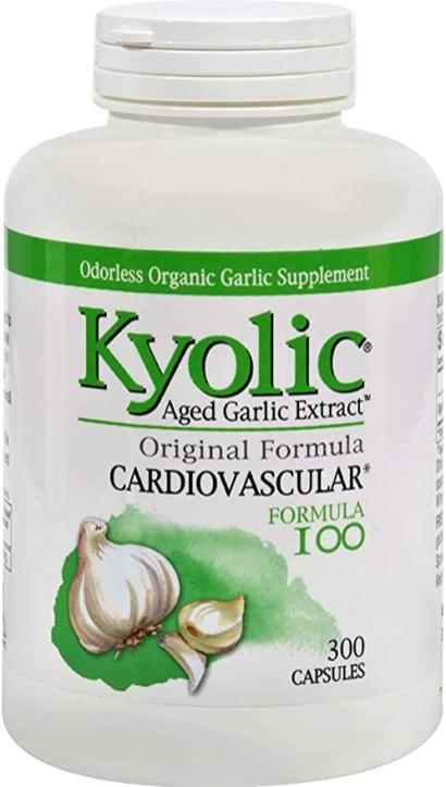 Kyolic Garlic Formula 100 Original Cardiovascular Formula