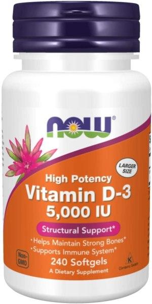 NOW Foods Vitamin D-3 5000IU