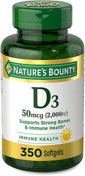 Natures Bounty D3 2000IU