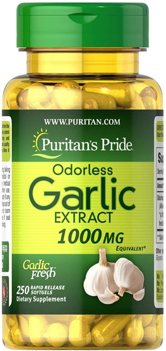 Puritans Pride Odorless Garlic 1000 Mg