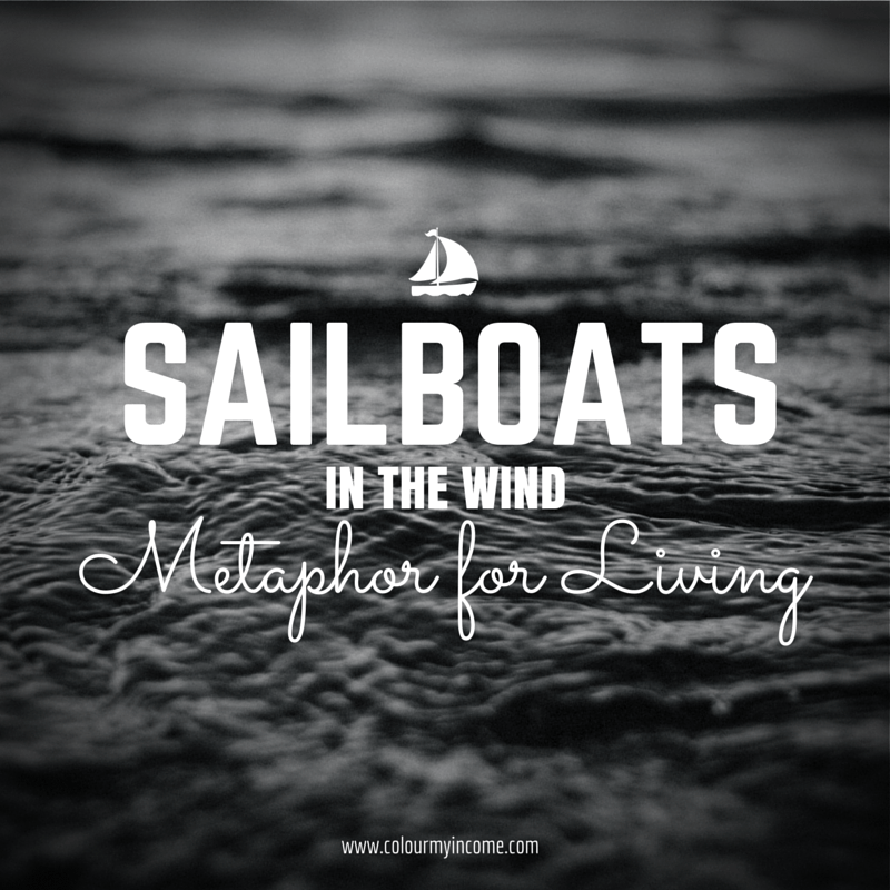 Sailboats in the Wind - A Metaphor for Living