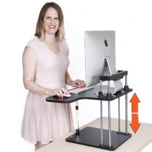 STAND-STEADY-UpTrak-Standing-Desk-Standing