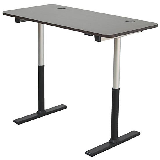 stand up desk 60inch electric stand adjustable height desk u2013 single level