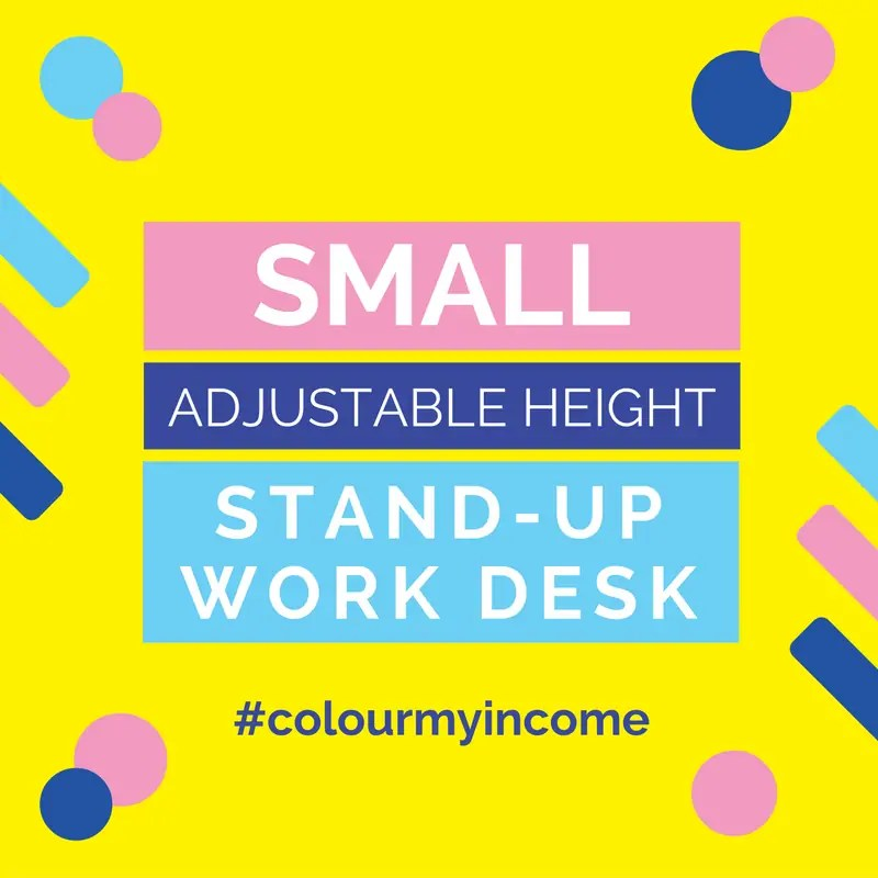 Small Adjustable Height Stand Up Work Desks - space saving workstations for more ways to work