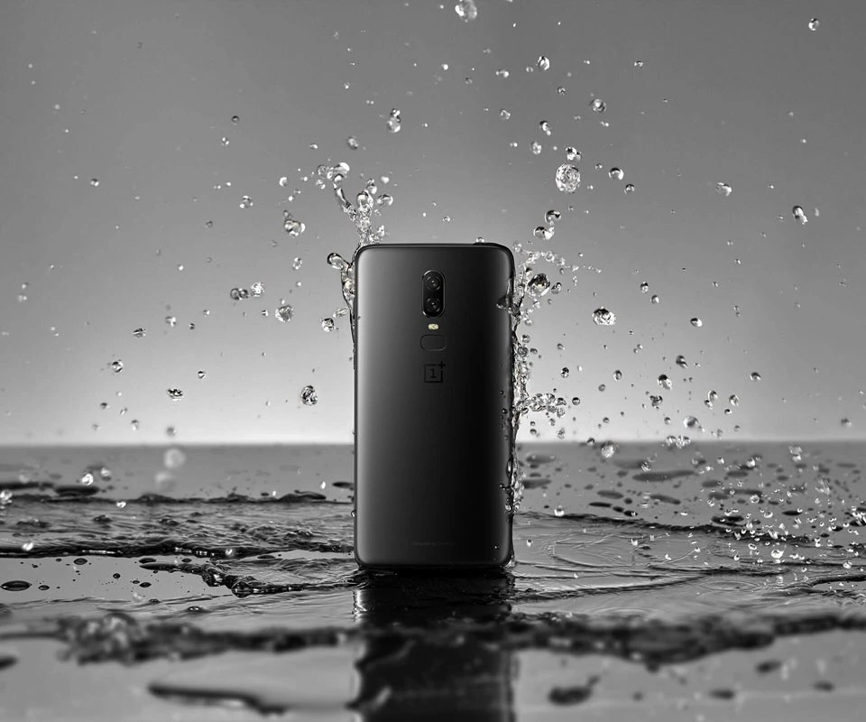 OnePlus 6 Water Resistant
