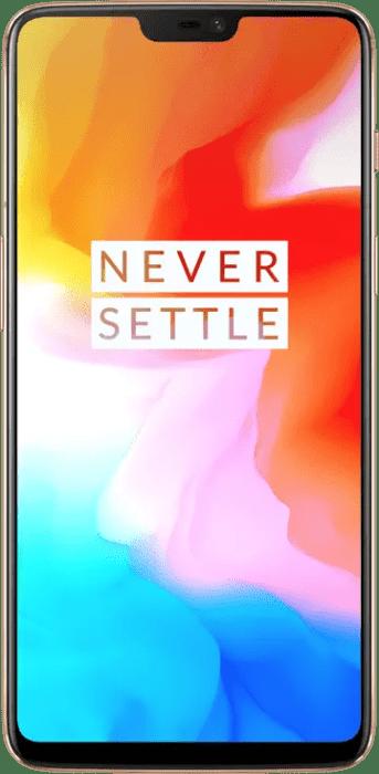 OnePlus 6 Silk White Front