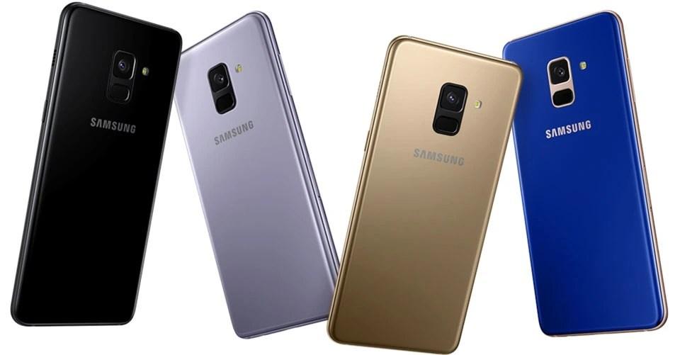 Colour Options Samsung Galaxy A8