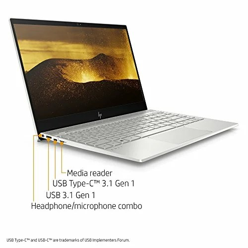 HP Envy 13 Ports on the Left Side