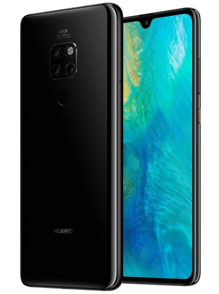 Huawei Mate 20 Front and Back