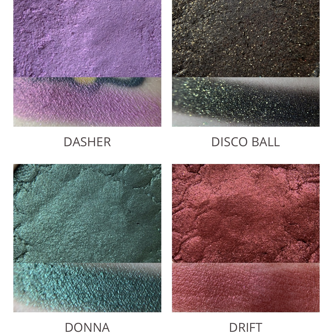 Swatches of ALL Super Shock Shadows