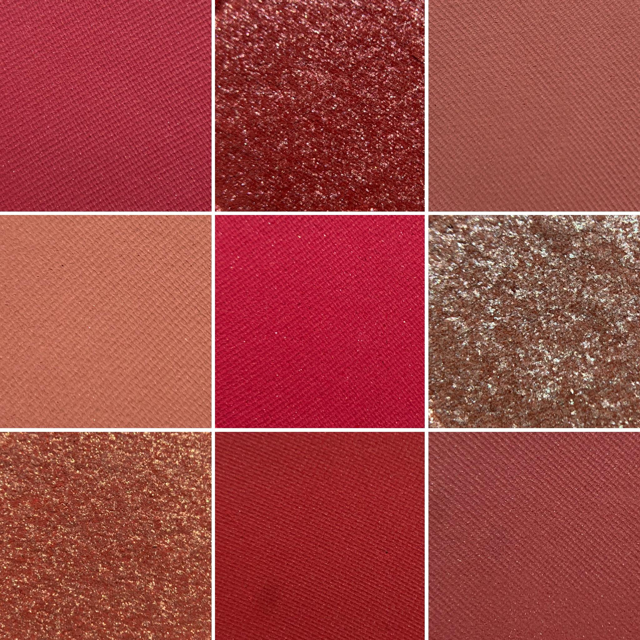 Colourpop STRAWBERRY SHAKE palette photos & swatches