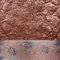 Colourpop BIRTHDAY CAKE Super Shock Shadow swatch and photo