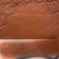 Colourpop SHINY Super Shock Shadow swatch and photo