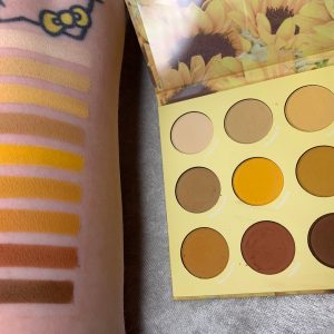Colourpop The SUNFLOWER Collection Photos & Swatches