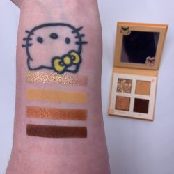 ANIMAL CROSS X COLOURPOP WHAT A HOOT eye shadow palette swatches