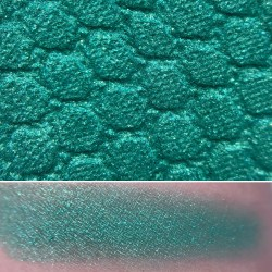Colourpop SHORE THING Super Shock Shadow swatch and photo