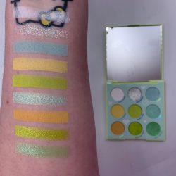 Colourpop AURA & OUT palette and swatches