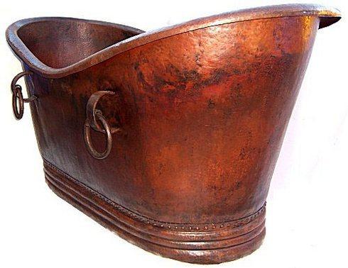 Copper Bathtubs  Colours Of Mexico