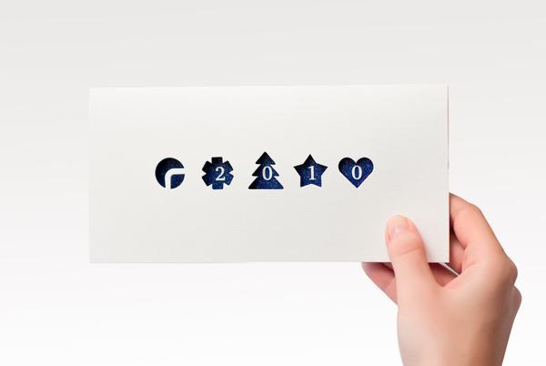 10 Creative Christmas Card Designs Colour Time Printing