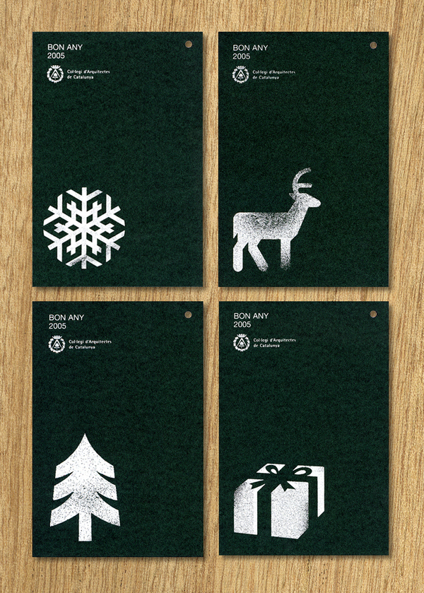 10 Creative Christmas Card Designs Colour Time Printing