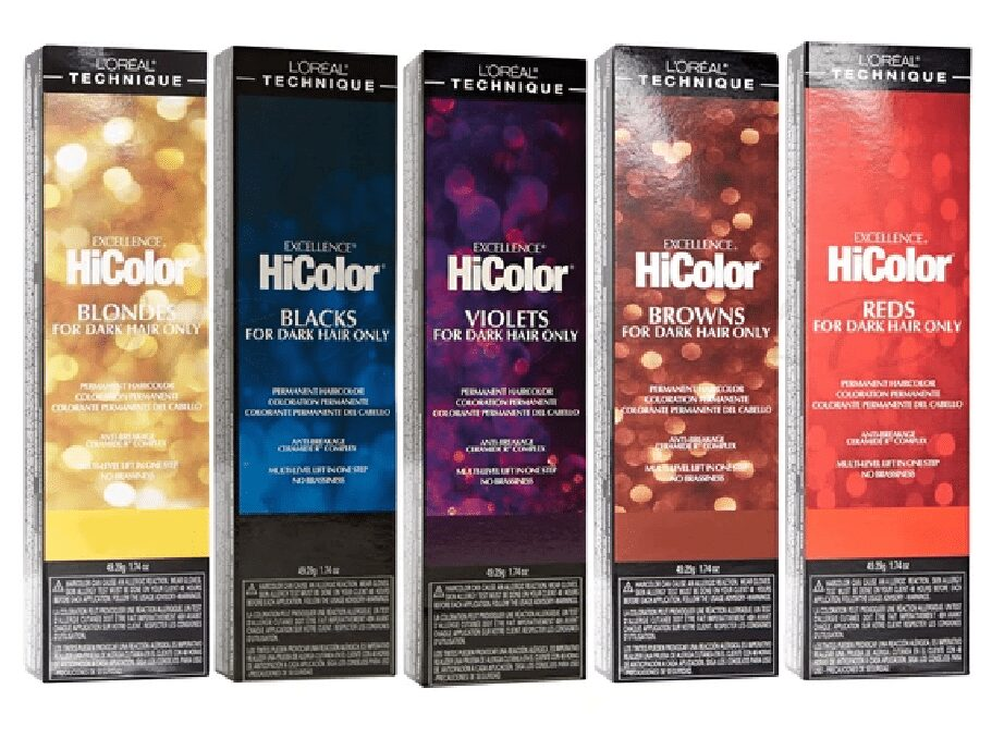 L'Oreal Excellence HiColor For Dark Hair Only