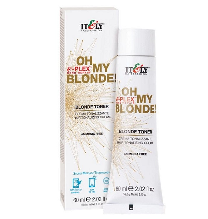 Itely Oh My Blonde Caramel Cream Toner 60ml