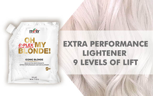 Oh My Blonde! Lightener 9 Levels of Lift