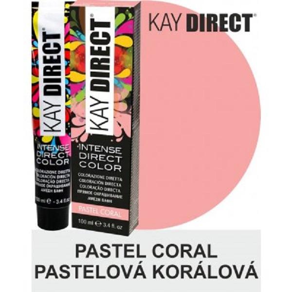 Kay Direct Pastel Coral Semi-Permanent Hair Colour 100ml