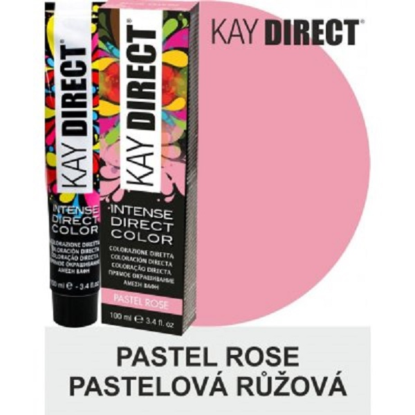 Kay Direct Pastel Rose Semi-Permanent Hair Colour 100ml