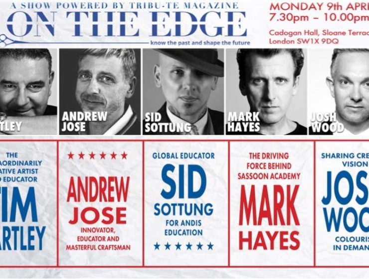 Josh Wood joins On The Edge