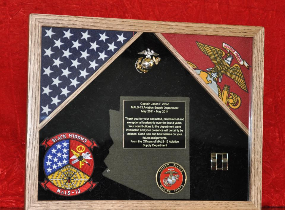 Wording Army 7 Plaque 5