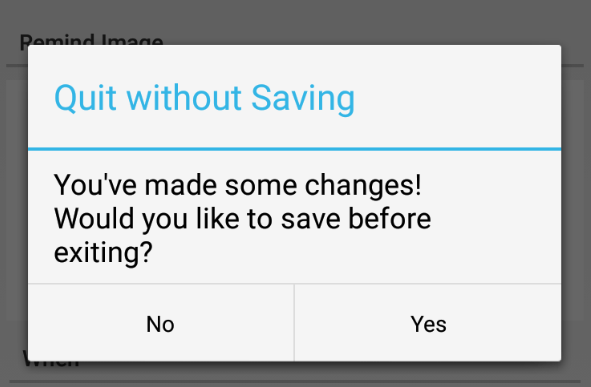 Quit Without Saving