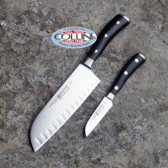Professional Kitchen Knives Pictures Of Backsplashes Wusthof Germany Ikon Set Santoku 9276