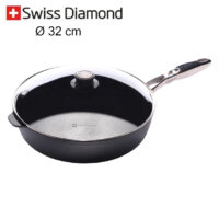 padella alta Swiss Diamond 32 cm