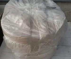 teli di juta per pacciamatura biodegradabile-orto-il rotolo