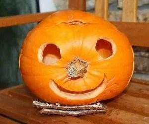 zucche di halloween intagliate-faccia