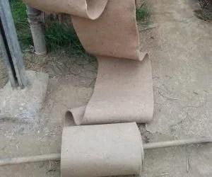 teli di juta per pacciamatura biodegradabile orto-scioglimento rotolo