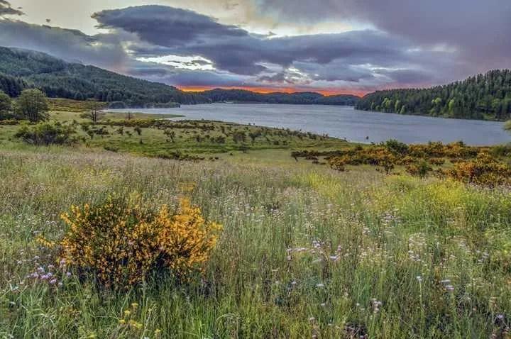 Alba sul Lago Ampollino - Parco Nazionale della Sila