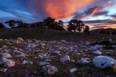 Tramonto al giardino degli Dei (Parco nazionale del Pollino)
