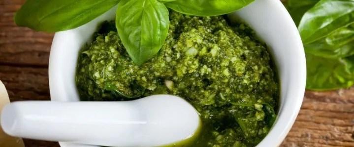 Ricetta del pesto di basilico