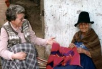 Senora Carmen's work is admired by Sister Maura Gallahue    in Canto Grande, Peru.