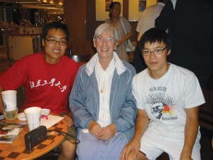The Dang Brothers with Sr Mary Anthony in Hong Kong 2011!