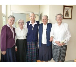 Srs Evelyn, Mary Greaney, Mary, Catherine Hurley and Kathleen McHugh