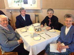 Sisters Laurentia, Eileen Kiely, Nora Mary and Susan Keating