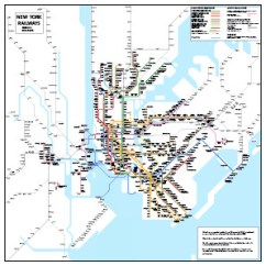 New York City Subway Diagram Home Network Wiring