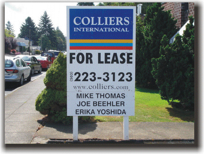 Columbia Signs Sign Gallery Of Commercial Real Estate
