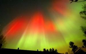 Efect al exploziei solare Aurora Borealis ar putea fi vizibila in Anglia