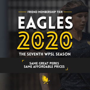The Eagles' Friend membership tier for 2020 is $70